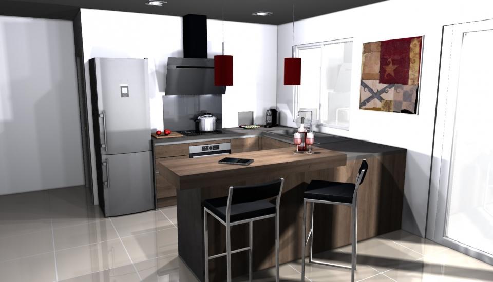 votre projet cuisine eco cuisine melun 77 cuisine tout compris. Black Bedroom Furniture Sets. Home Design Ideas